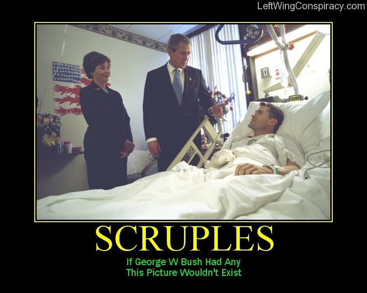 Motivational Poster — Scruples