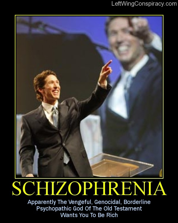 Motivational Poster — Schizophrenia