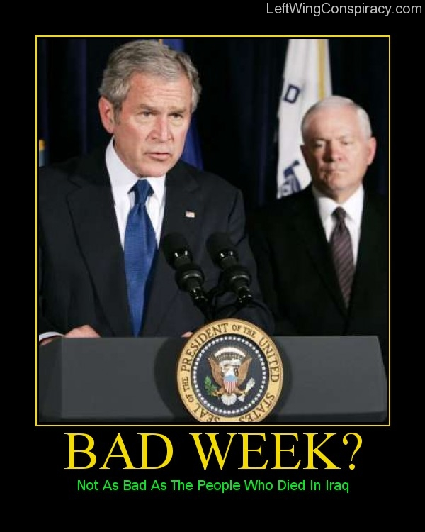 Motivational Poster — Bad Week?
