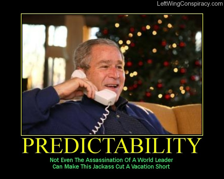 Motivational Poster — Predictability
