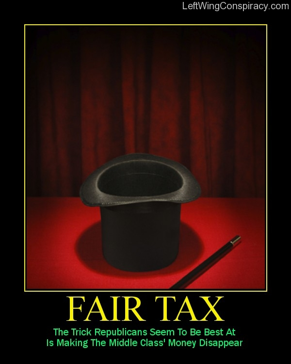 Motivational Poster — Fair Tax