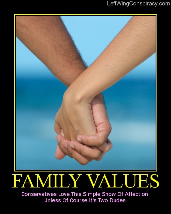 Motivational Poster — Family Values