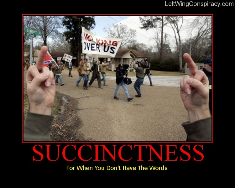 Motivational Poster — Succinctness