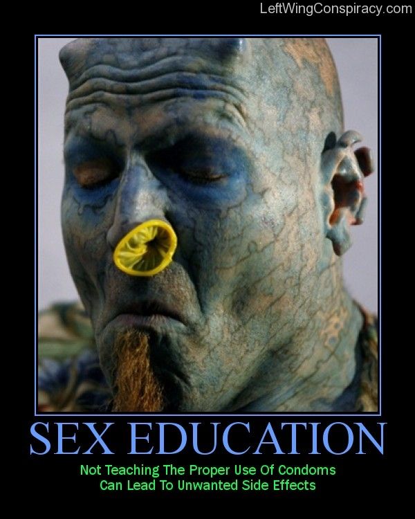 Motivational Poster — Sex Education