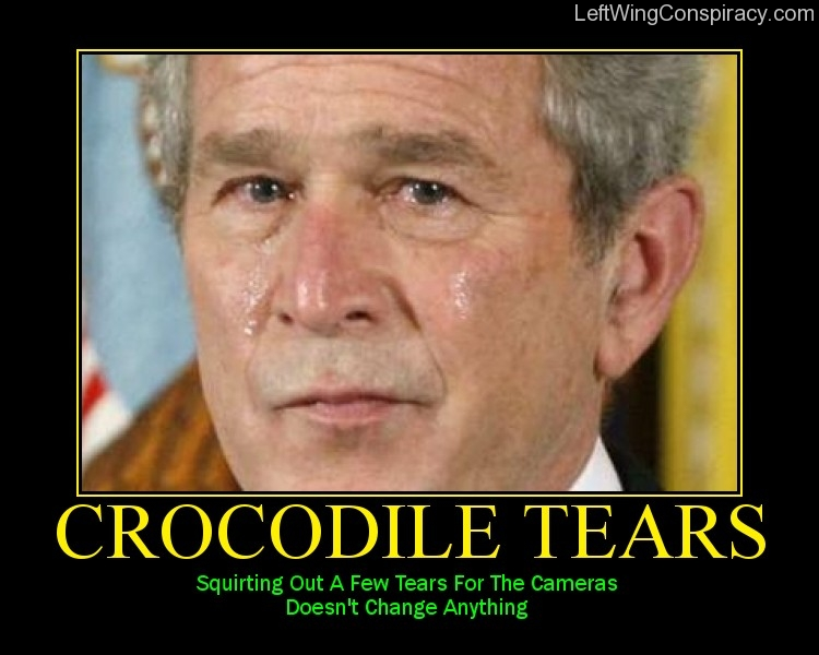 Motivational Poster — Crocodile Tears