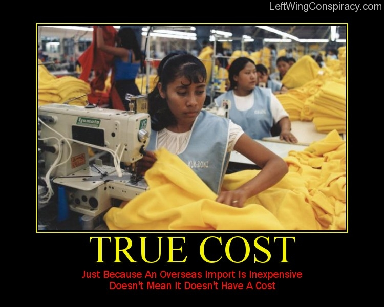 Motivational Poster — True Cost