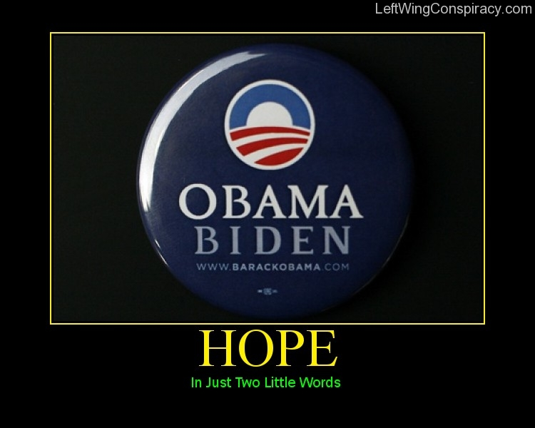Motivational Poster — Hope