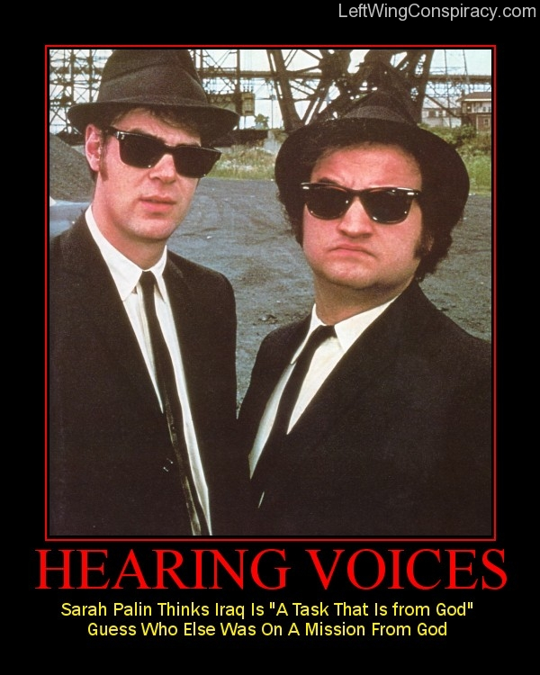 Motivational Poster -- Hearing Voices