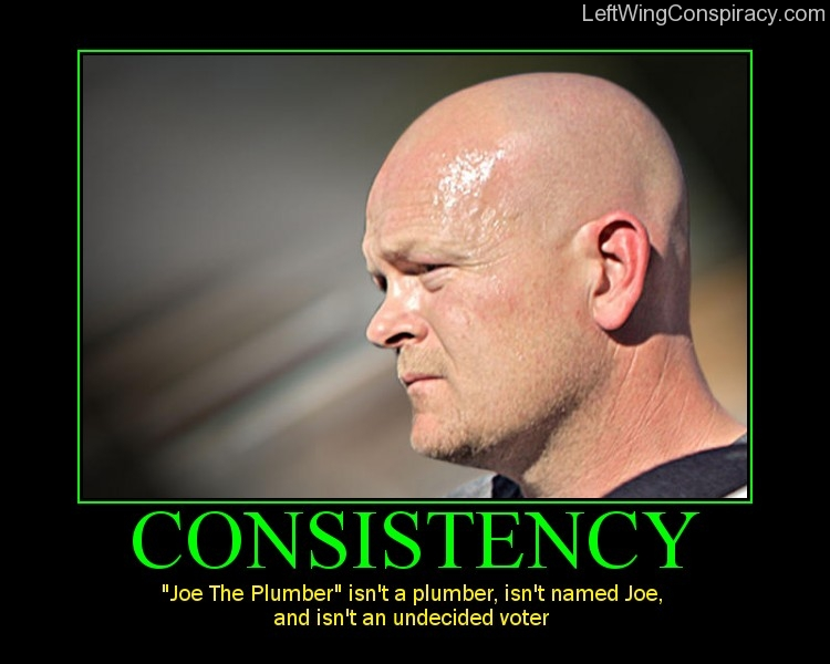 Motivational Poster -- Consistency