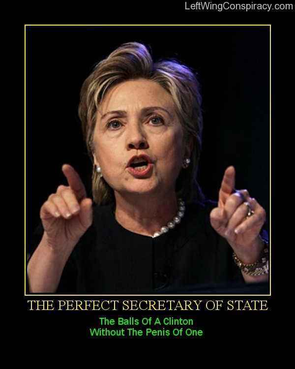 Motivational Poster -- The Perfect Secretary Of State