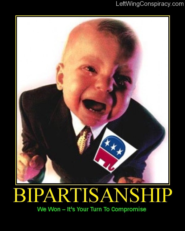 Motivational Poster -- Bipartisanship