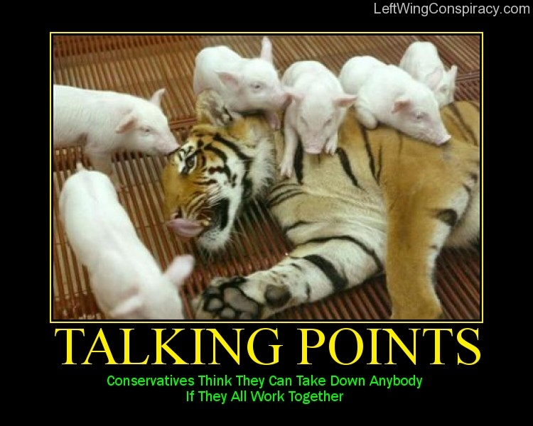 Motivational Poster -- Talking Points