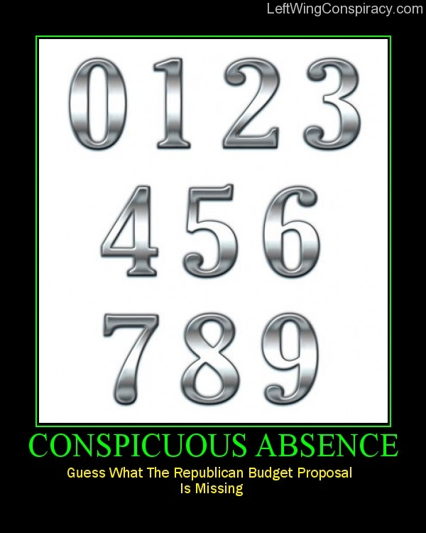 Motivational Poster -- Conspicuous Absence