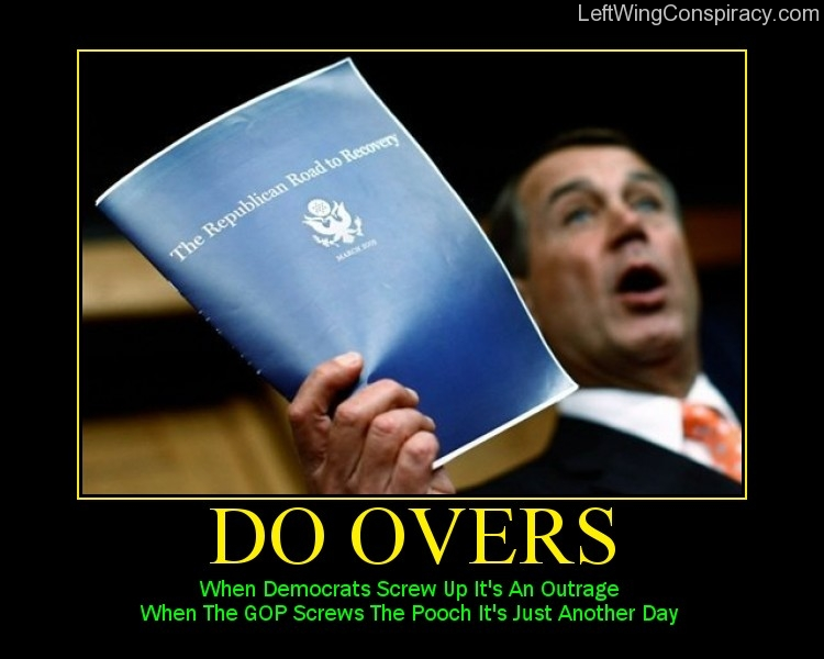 Motivational Poster -- Do Overs