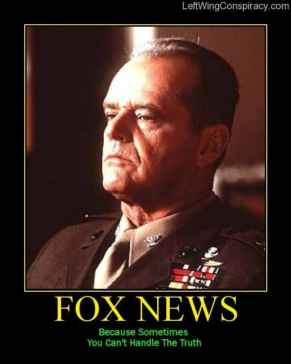 Motivational Poster -- Fox News