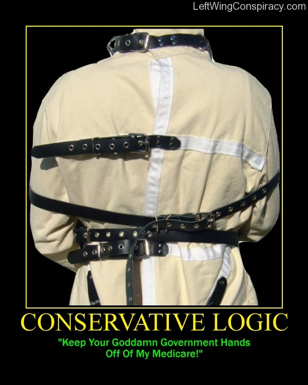 Motivational Poster -- Conservative Logic