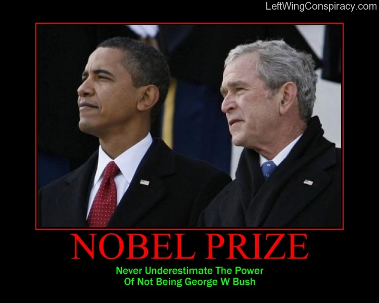Motivational Poster -- Nobel Prize