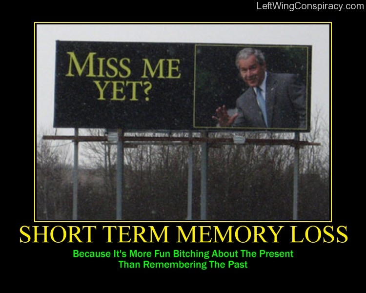 Motivational Poster -- Short Term Memory Loss