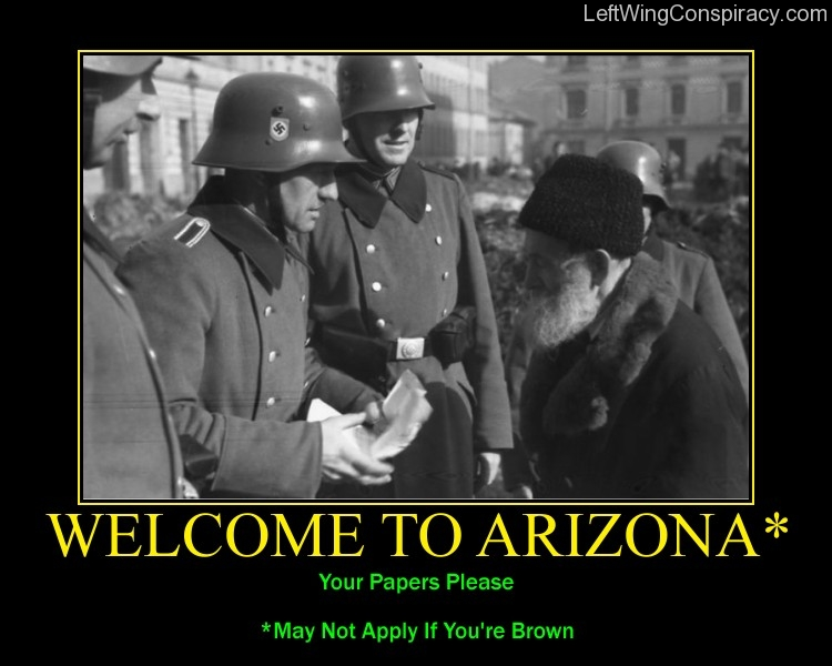 Motivational Poster -- Welcome To Arizona*