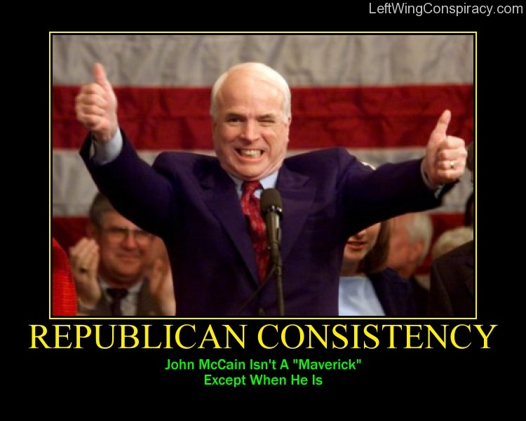 Motivational Poster -- Republican Hyperbole
