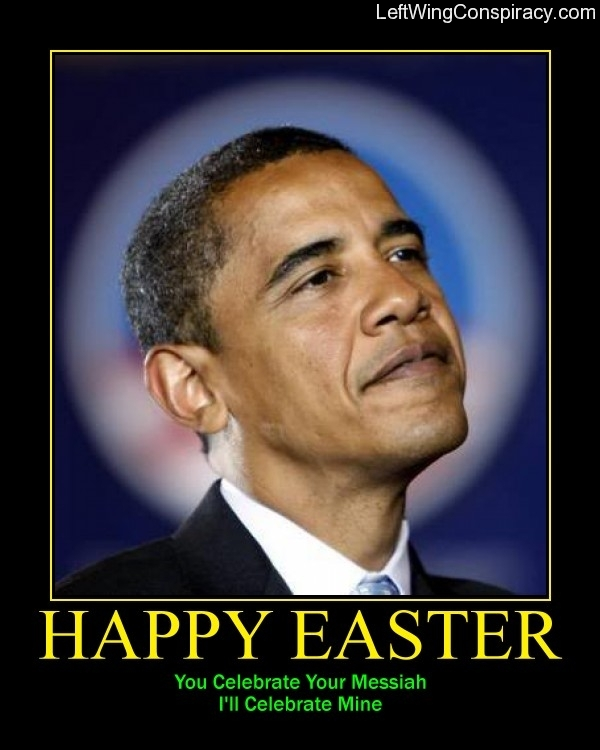 Motivational Poster -- Happy Easter