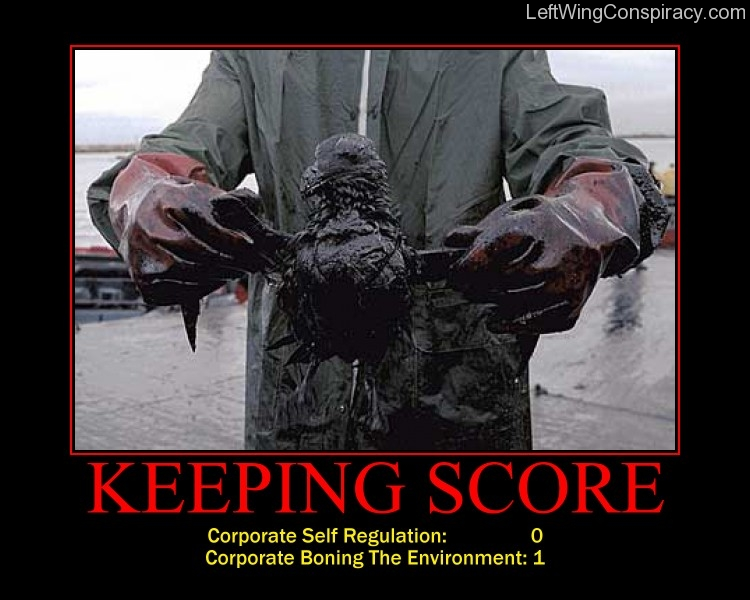 Motivational Poster -- Keeping Score