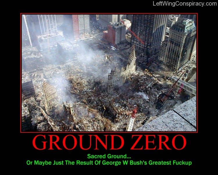 Motivational Poster -- Ground Zero
