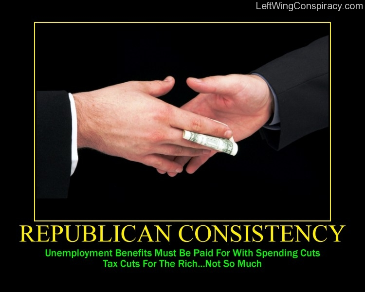 Motivational Poster -- Republican Consistency