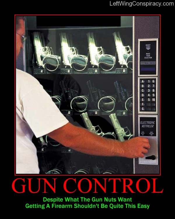 Motivational Poster -- Gun Control