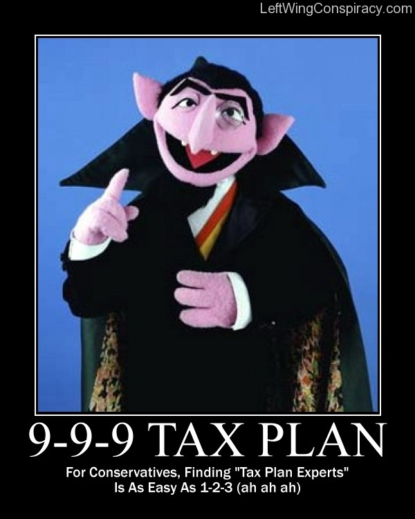 Motivational Poster -- 9-9-9 Tax Plan